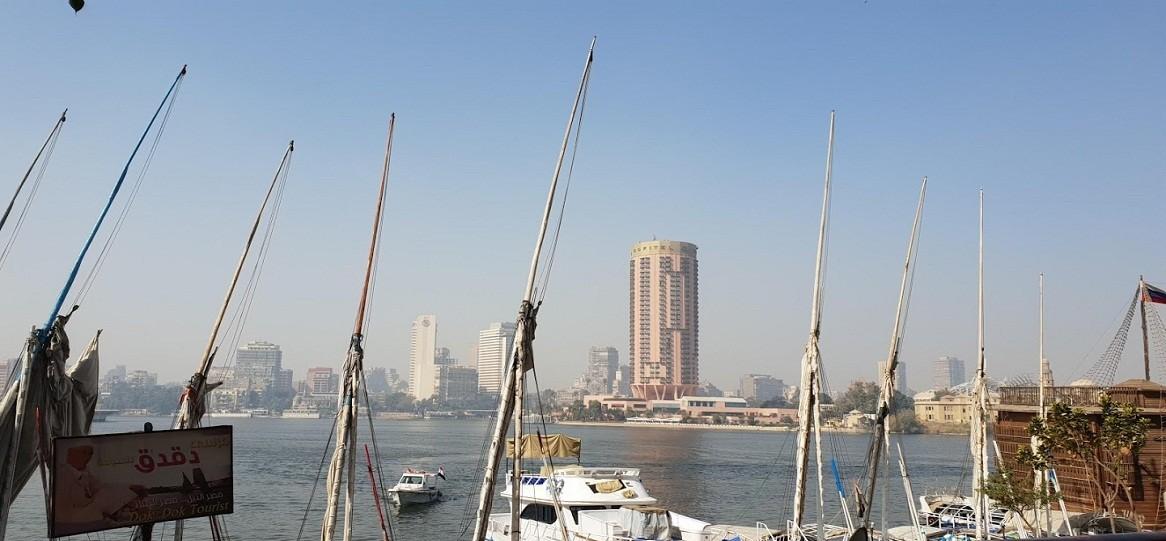 der Nil in Kairo, ausflug nach gizeh von Soma bay safaga ausflüge