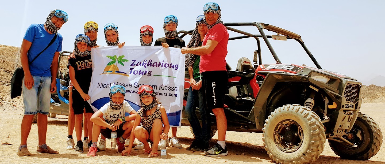 Ab Hurghada: 3 Stunden Dune Buggy Big Red Tour