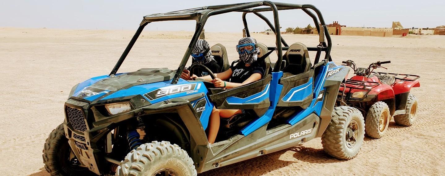 5 stunden dune buggy tour ab Makadi bay