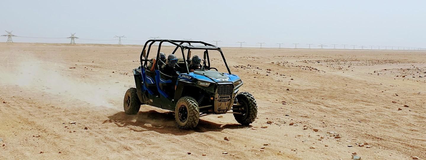 safara ausflug auf dem Dune buggy von makdi bay und sahl Hasheesh