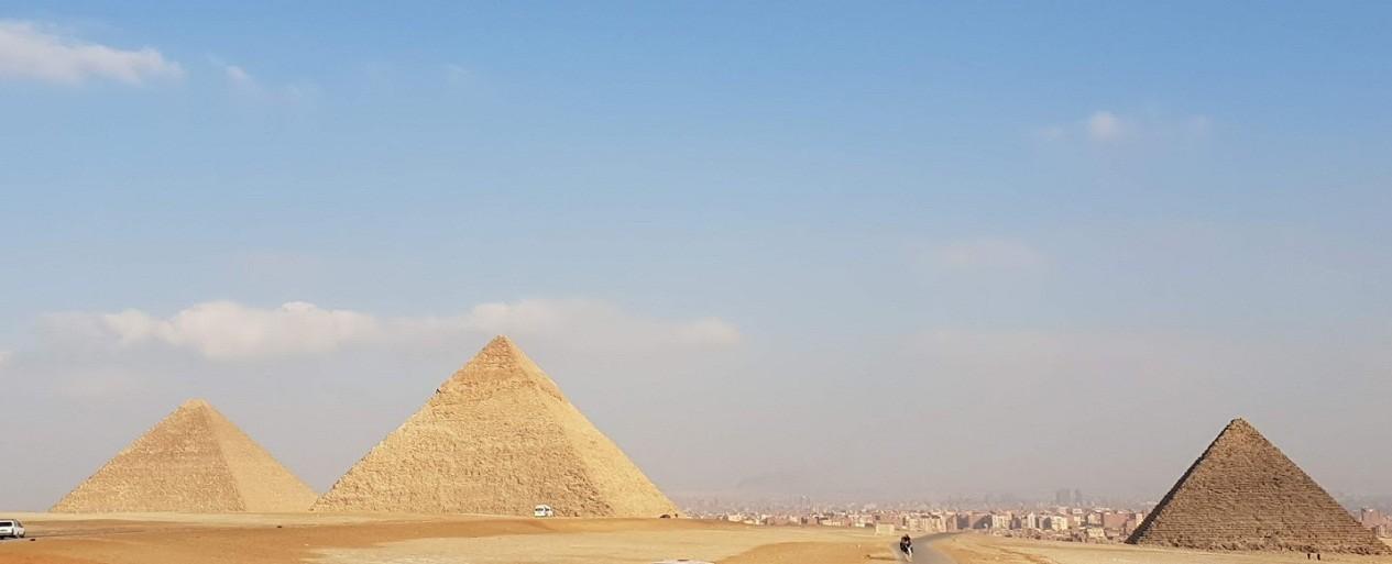 die 3 Pyraminden von Gizeh tagesausflug nach kairo von Soma bay safaga ausflüge