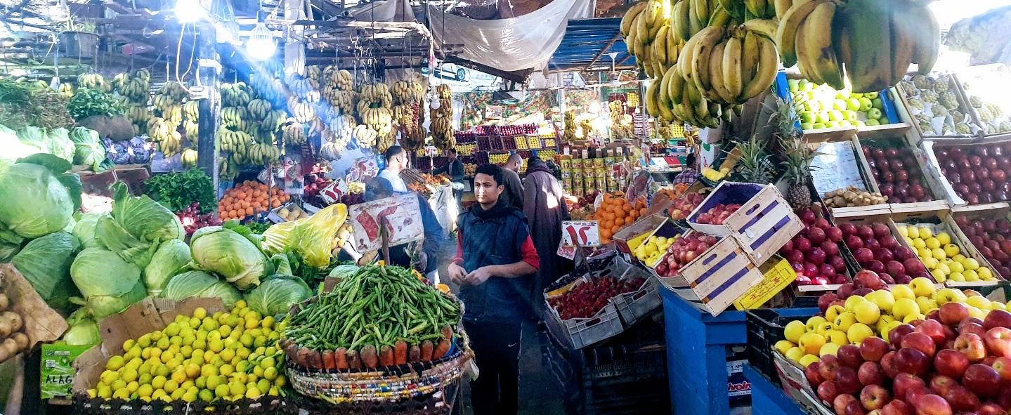 hurghada Obst markt