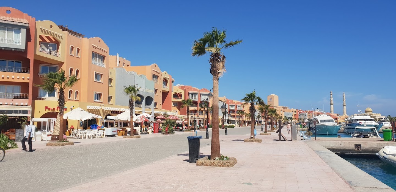 Hurghada Stadtrundfahrt die Neue Marina