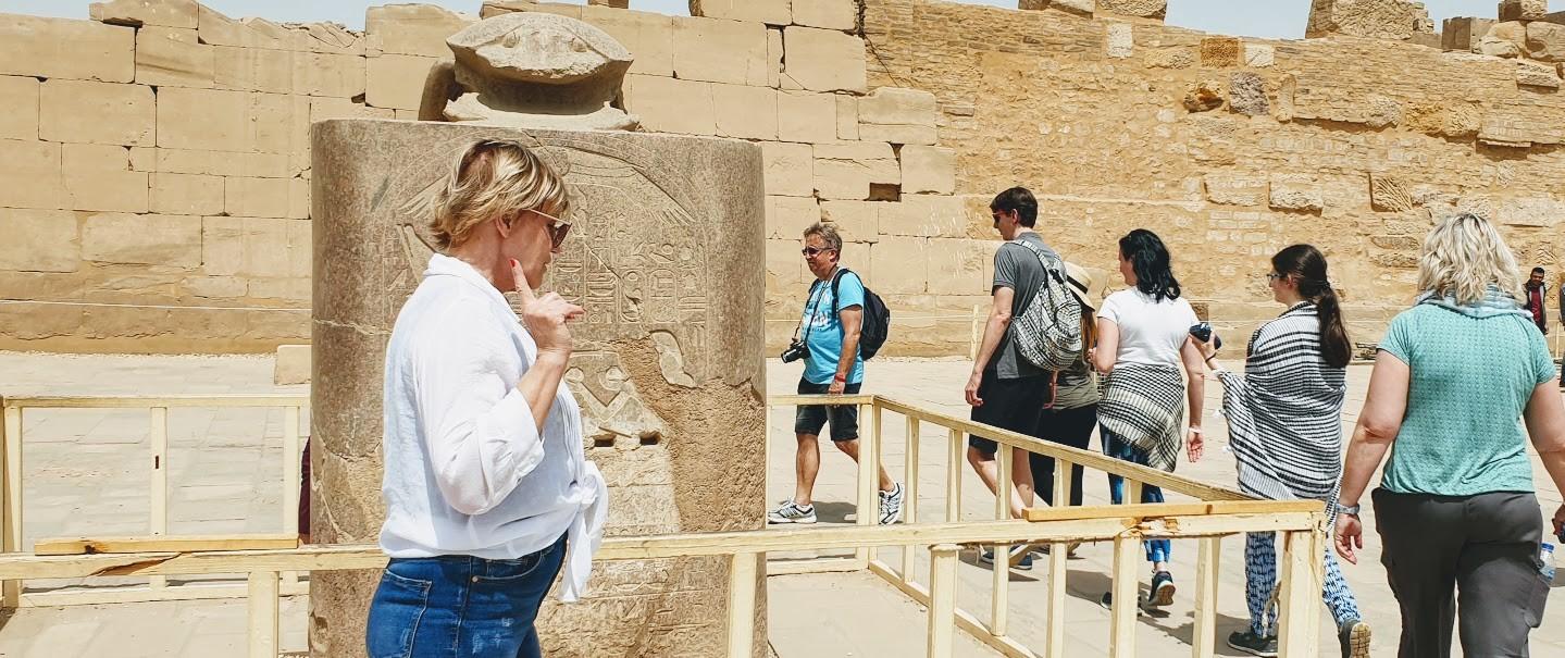 privater ausflug von hurghada nach luxor die Pilger in Karnak Tempel, ausflüge hurghada