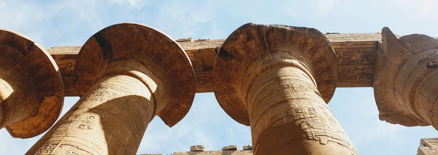 der saeuelsaal in Karnak tempel, luxor tagesausflug von el gouna ausflüge