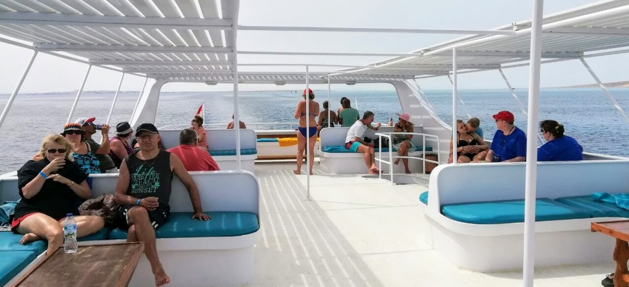 Orange Bay Insel Ausflug Hurghada Ägypten