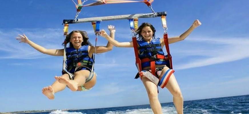 Paragliding  hurghada pararasiling in Hurghada das rote meer