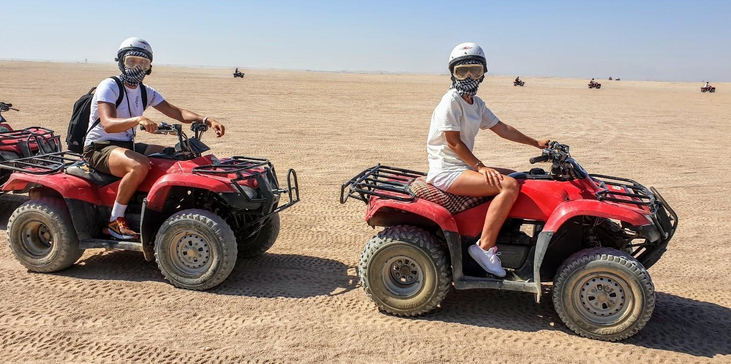 quad fahren in makadi bay