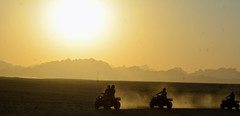 5 Stunden Quad Safari Ausflug mit BBQ ab Sahl Hasheesh & Makadi Bay