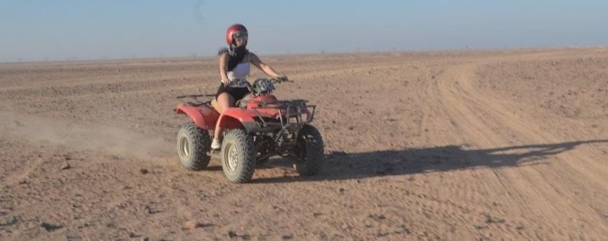 5 Stunden Wüsten Safari auf dem Quad von Safaga & Soma bay