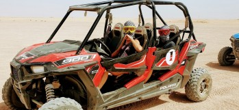 3 Stunden Dune Buggy Ausflug von Sahl Hasheesh & Makadi bay