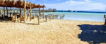 Orange bay Insel Hurghada