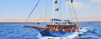 Von Hurghada: Pirates, Schnorchel-Erlebnis per Segelboot