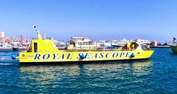glasbodenboot makadi bay Semi U-Boot Tour in Sahl Hasheesh & Makadi Bay