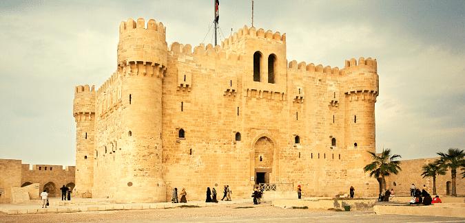 Ägypten_Sehenswürdigkeiten_Zitadelle_von_Quaibay_in_Alexanderia